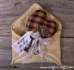 Primitive Heart in Envelope Pattern & E-Pattern