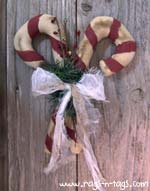 Christmas Candy Canes Pattern & E-Pattern