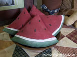 Primitive Watermelon Slice Pattern & E-Pattern