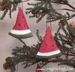 Primitive Watermelon Ornament Pattern & E-Pattern