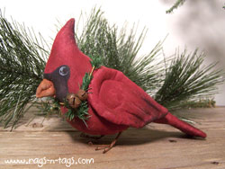 Primitive Fabric Cardinal Bird Pattern & E-Pattern